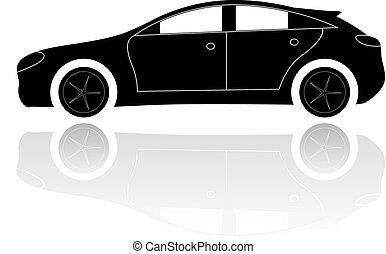 car, silueta