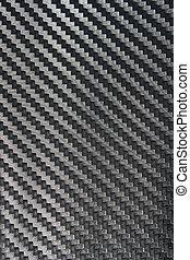carbono, fibra, pretas, textura