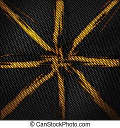 carbono, modernos, pattern., fibra