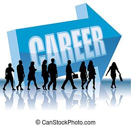 carreira, direção, -
