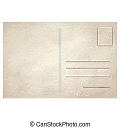 cartão postal, vindima, antigas