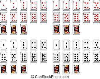 cartões, pôquer