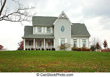 casa fazenda, outono