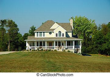 casa fazenda, verão