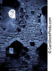 castelo, spooky