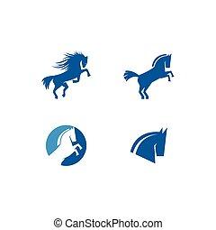 cavalo, logotipo