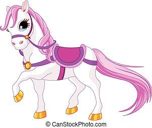 cavalo, princesa