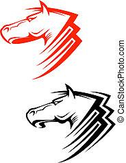 cavalos, símbolos