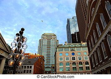 centro cidade, boston