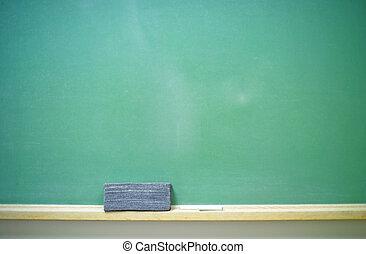 chalkboard-horizontal, em branco