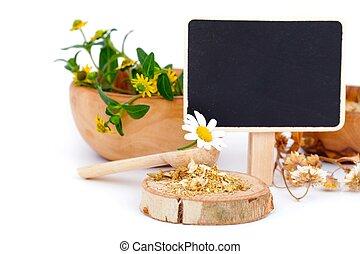 chamomile, medicinal, secado, ervas