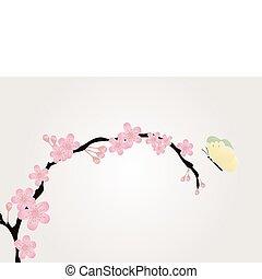 cherry-tree, ramo