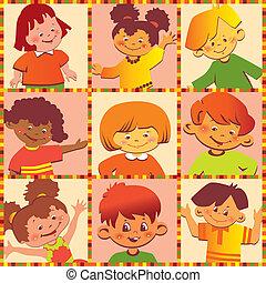 children., feliz