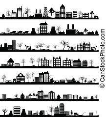 cidade, paisagem