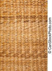 cima., marrom, vertical, cor, resolução, format., textura, alto, basket., fim, tecido