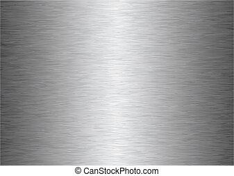 cinzento, metal, fundo