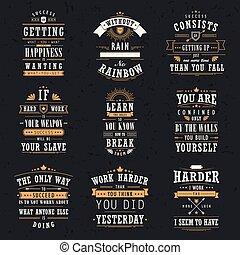 citação, motivational, jogo, inspirational, sucesso