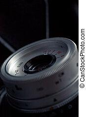close-up, câmera, antigas