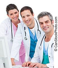 close-up, medicam, equipe