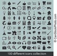cobrança, ícones