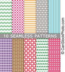 cobrança, padrões, seamless, fundo