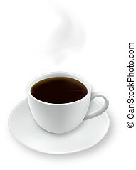 coffee., copo