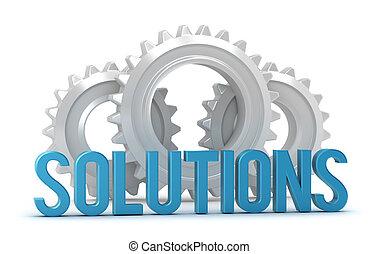 cogs, palavra, soluções