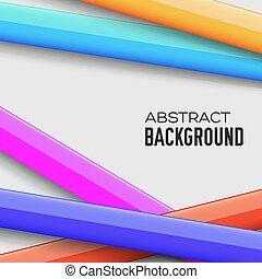 coloridos, concept., ilustração, vetorial, fundo, abstratos
