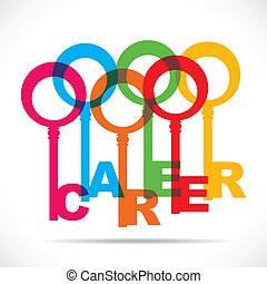 coloridos, fazer, carreira, teclas, grupo