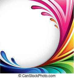 coloridos, fundo