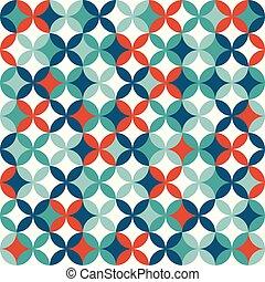 coloridos, geomã©´ricas, seamless, padrão, experiência., abstratos, design.