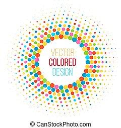 coloridos, halftone