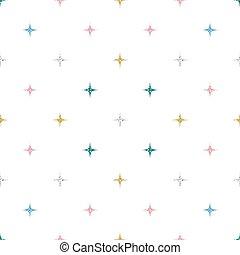 coloridos, padrão, seamless, fundo, branca, brilhar