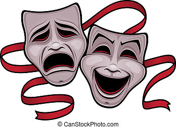 comédia, teatro, máscaras tragédia