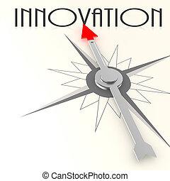 compasso, palavra, inovação