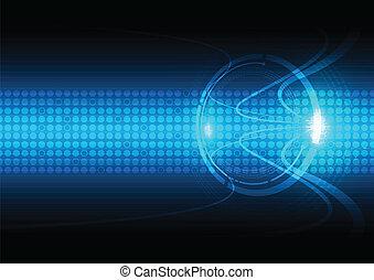 comunicação, abstratos, tecnologia, fundo