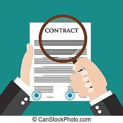 conceito, contrato, inspeção