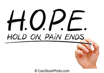 conceito, esperança