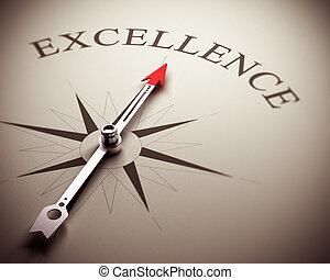 conceito, excelência, negócio