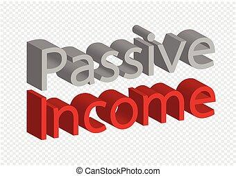 conceito, incomes, idéia, passivo, renda, repetir