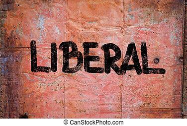 conceito, liberal