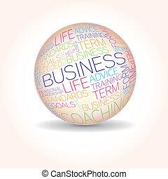 conceito, palavras, relatado, negócio