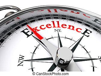 conceitual, excelência, compasso