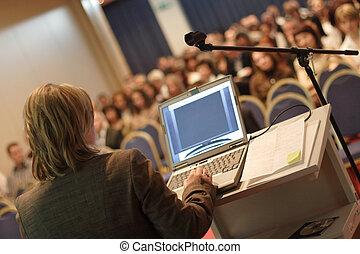 conferência, convenção