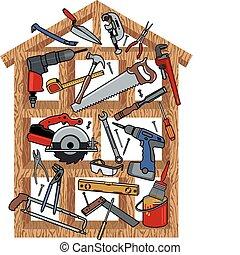 construção, casa