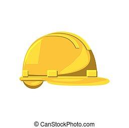 construção, hardhat, equipamento