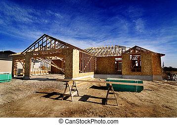construção lar, novo
