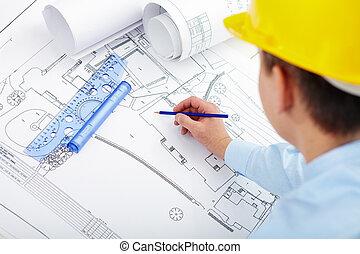 construção, projeto