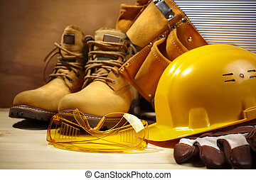 construção, segurança