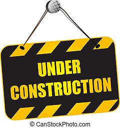 construção, sinal